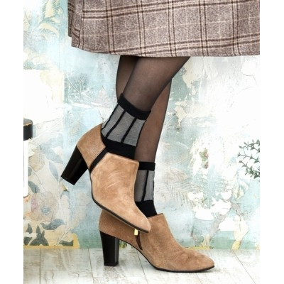 neue marche / 切り返しコンビブーティ/1735【日本製】 WOMEN シューズ > ブーツ