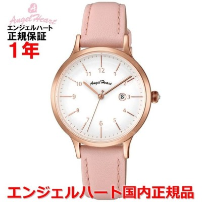 国内正規品 エンジェルハート ANGEL HEART レディース 腕時計 ソーラー ウォッチ パステルハート Pastel Heart PH32P-PK