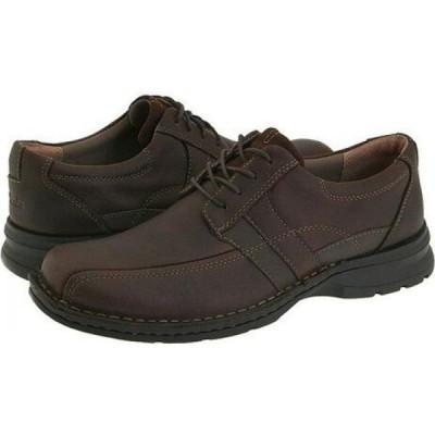 クラークス Clarks メンズ シューズ・靴 Espace Brown Oily Leather