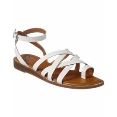 Franco Sarto フランコサルト ファッション サンダル Franco Sarto Georgie Leather Sandal 6 White