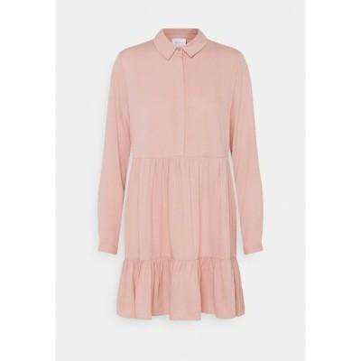 ヴィラ プティ ワンピース レディース トップス VIMOROSE SHIRT DRESS - Day dress - misty rose