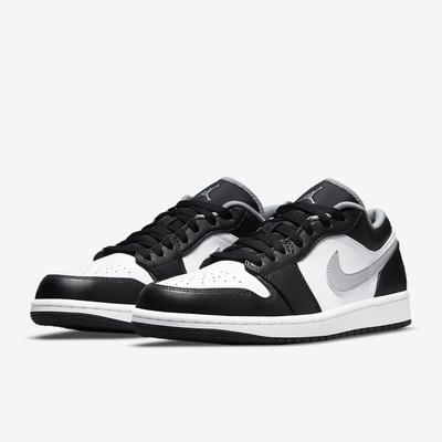 NIKE 籃球鞋 運動鞋 AJ 喬丹 1代 皮革 黑白 男鞋 553558-040 Air Jordan