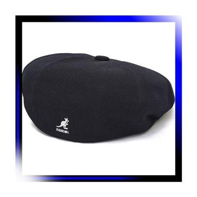 01 BLACKxSILVER/M カンゴール ベレー帽 ハンチング TROPIC GALA