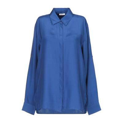 パロッシュ P.A.R.O.S.H. シャツ ブルー XS シルク 100% シャツ