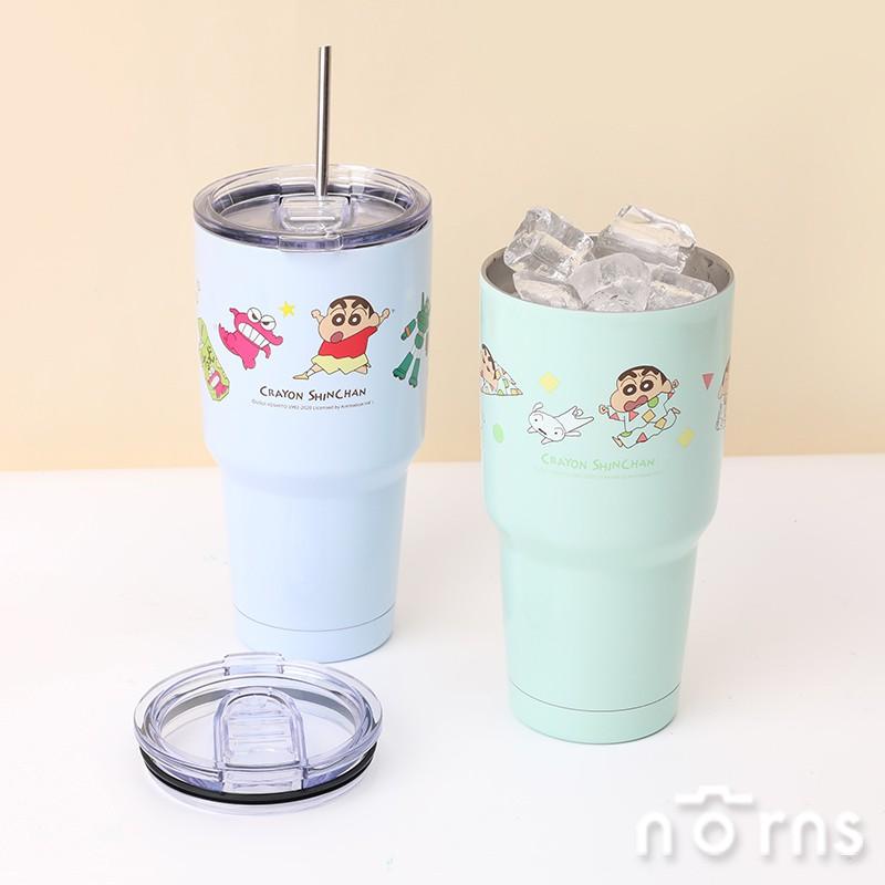 蠟筆小新不鏽鋼酷涼杯- Norns Crayon ShinChan正版授權 保溫杯 睡衣/玩具  304不鏽鋼 雙層真空