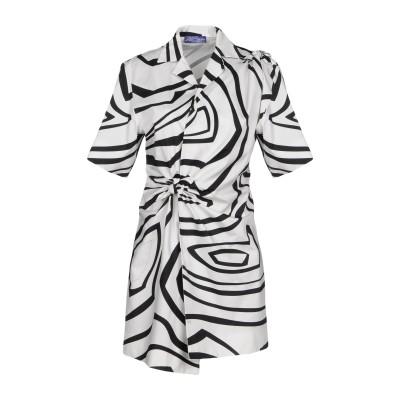 エミリオ・プッチ EMILIO PUCCI ミニワンピース&ドレス ホワイト 40 コットン 100% ミニワンピース&ドレス