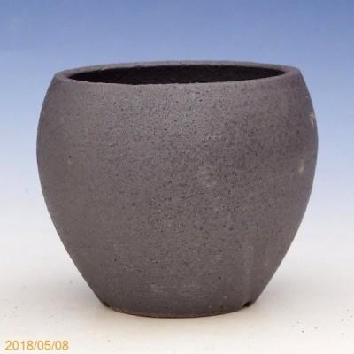 信楽焼 植木鉢 ターボポット(4) 3.5号(外径10.5cm 高さ9.5cm)