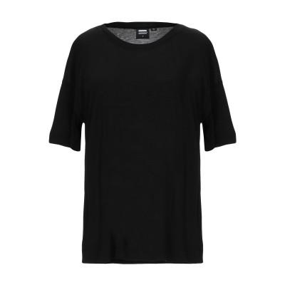 DR. DENIM JEANSMAKERS T シャツ ブラック XS レーヨン 100% T シャツ