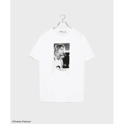 tシャツ Tシャツ Charles Peterson collaboration with LEGENDA T-shirt 1st