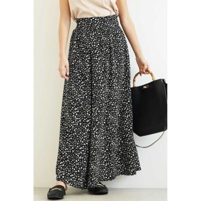 【フリーズマート/Free's Mart】 レトロフラワーマキシスカート
