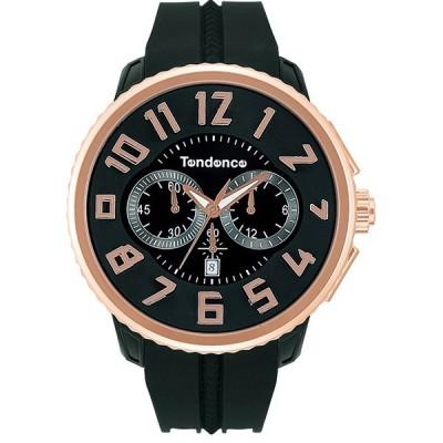 【クーポン利用で10%OFF】ガリバーラウンドクロノ TG046012R Tendence テンデンス メンズ 腕時計 国内正規品 送料無料