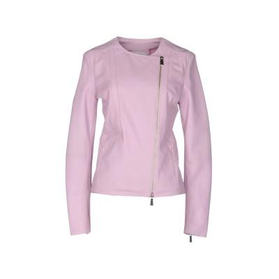 ピンコ PINKO ブルゾン ピンク 42 羊革(ラムスキン) 100% / レーヨン / ナイロン / ポリウレタン ブルゾン