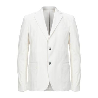 ハマキホ HAMAKI-HO テーラードジャケット ホワイト 50 コットン 100% テーラードジャケット