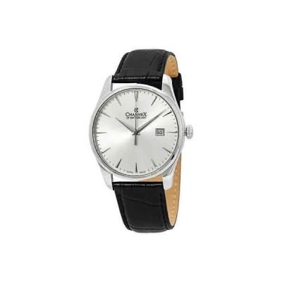 腕時計 シャーム メンズ Charmex Silver Dial Men's Watch 2945