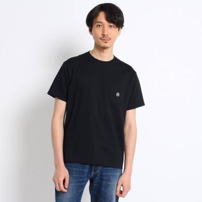 タケオ キクチ TAKEO KIKUCHI 【Sサイズ~】クラシックワンポイント ポケットTシャツ (ブラック)
