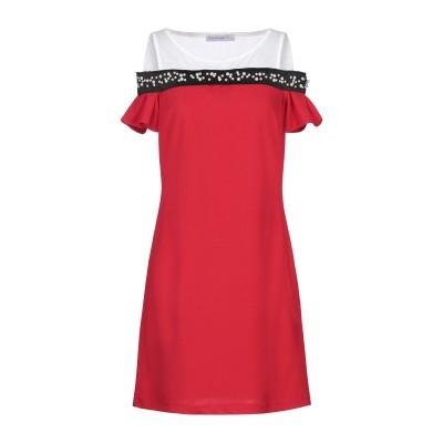 リナシメント RINASCIMENTO ミニワンピース&ドレス レッド S ポリエステル 95% / ポリウレタン 5% ミニワンピース&ドレス