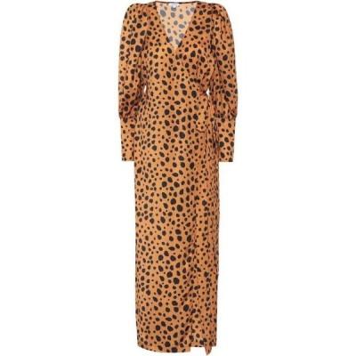 ロードリゾート RHODE レディース ワンピース ラップドレス ワンピース・ドレス Printed wrap dress Cheetah