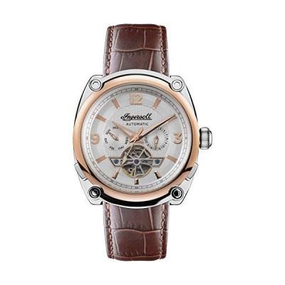 Michigan Mens Analog Automatic Watch with Leather Bracelet I01103B並行輸入品