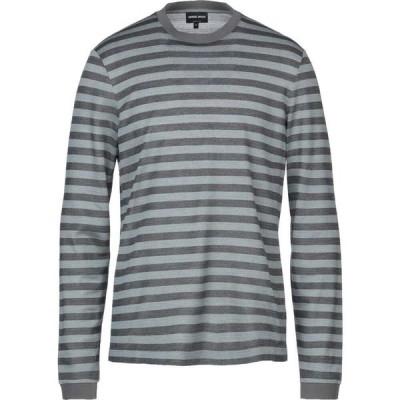 アルマーニ GIORGIO ARMANI メンズ ニット・セーター トップス sweater Grey