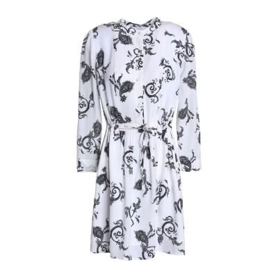 エー・エル・シー A.L.C. ミニワンピース&ドレス ホワイト 8 シルク 100% ミニワンピース&ドレス