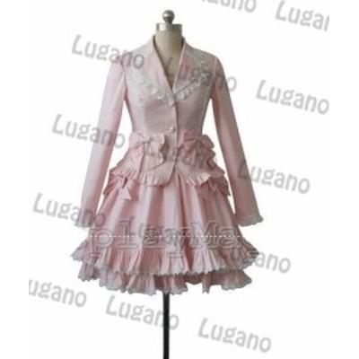 ◆ 萌えゴシック ロリータ風 Sweet Gothic Lolita 風 37  コスプレ衣装  新品 完全オーダメイドも対応可