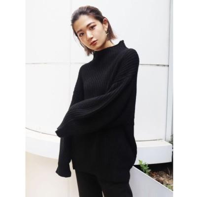 【エモダ/EMODA】 バルキーボトルネックニット