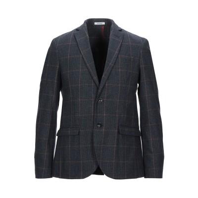 OFFICINA 36 テーラードジャケット ブルーグレー 52 コットン 68% / ウール 18% / ナイロン 9% / ポリエステル 5%