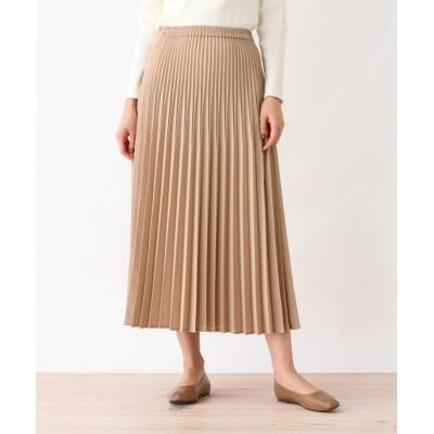 grove(グローブ) リネンライク変形プリーツスカート