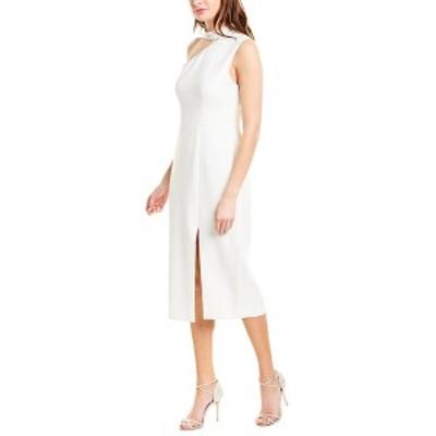 ビーシービージーマックスアズリア レディース ワンピース トップス BCBGMAXAZRIA Cocktail Dress off-white