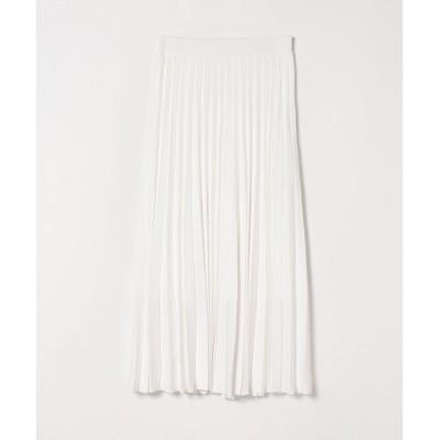 【アルアバイル/allureville】 【セットアップ対応商品】プリーツニットスカート
