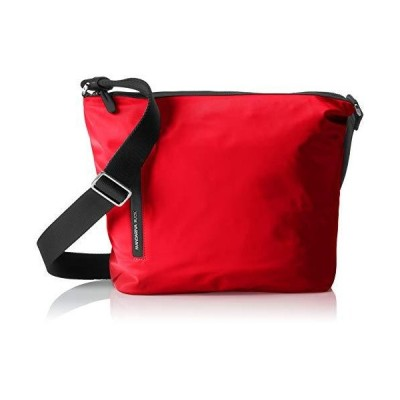 Mandarina Duck Hunter Tracolla, Women's Top-Handle Bag, Red (Mara Red) 並行輸入品