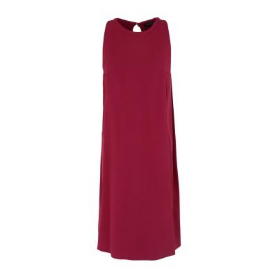ANTONELLI ミニワンピース&ドレス ボルドー 40 レーヨン 50% / アセテート 47% / ポリウレタン 3% ミニワンピース&ドレス