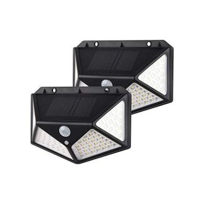 SUNYIMA 100 LEDソーラーライト屋外ソーラー パワードウォールライト防水緊急 省エネヤードガーデンストリートガーランドライト