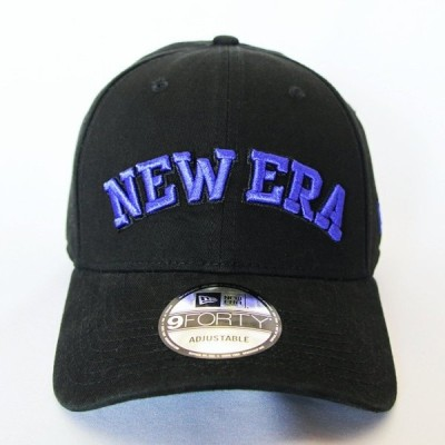 ニューエラ NEWERA 帽子 コットンツイル キャップ9FORTY ブラック