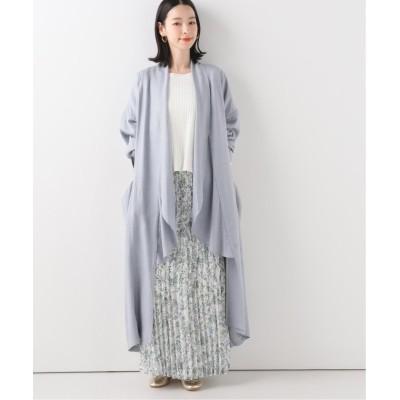 【イエナ】 over gown ジャケット レディース ブルーA フリー IENA