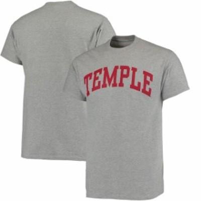 Fanatics Branded ファナティクス ブランド スポーツ用品  Temple Owls Gray Basic Arch T-Shirt