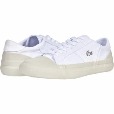 ラコステ Lacoste メンズ スニーカー シューズ・靴 Sideline 0921 1 White/Off White