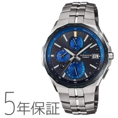オシアナス OCEANUS OCW-S5000E-1AJF CASIO カシオ Manta マンタ スマホ連携 山形モデル 最薄型 腕時計 メンズ