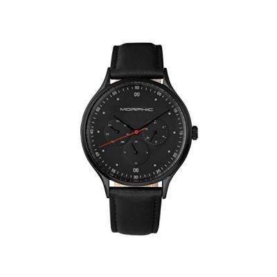 Morphic M65 Series Black Dial Men's Watch 6507 並行輸入品