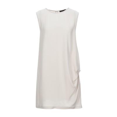 ファビアナフィリッピ FABIANA FILIPPI ミニワンピース&ドレス ライトグレー 38 シルク 94% / ポリウレタン 6% / 真鍮/