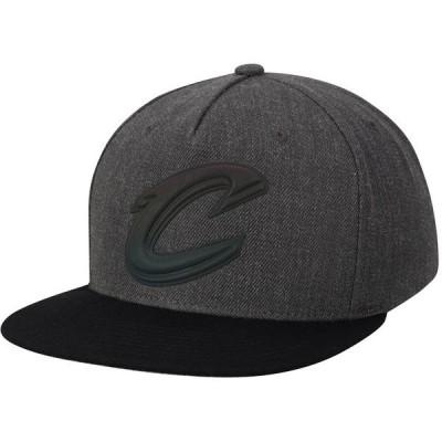 ミッチェル&ネス メンズ 帽子 アクセサリー Cleveland Cavaliers Mitchell & Ness Matte Tonal Snapback Adjustable Hat