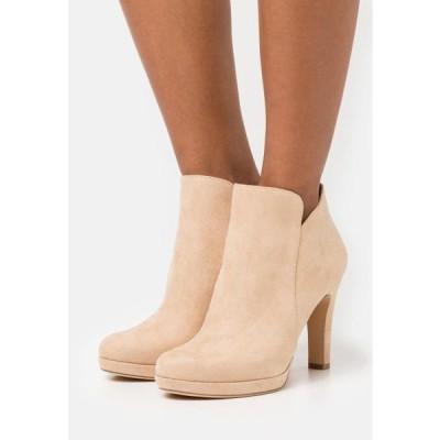 タマリス レディース 靴 シューズ High heeled ankle boots - almond