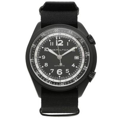 ハミルトン 腕時計 メンズ HAMILTON H80485835 41MM ブラック