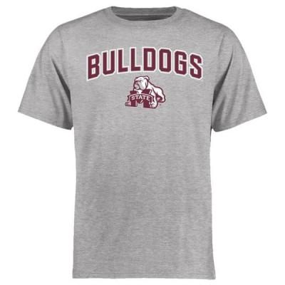 ユニセックス スポーツリーグ アメリカ大学スポーツ Mississippi State Bulldogs Proud Mascot T-Shirt - Ash Tシャツ