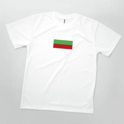 Tシャツ ブルガリア共和国 国旗