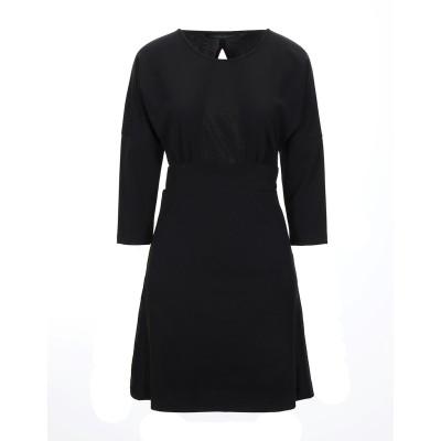 シルビアンヒーチ SILVIAN HEACH ミニワンピース&ドレス ブラック XS ポリエステル 95% / ポリウレタン 5% ミニワンピース&