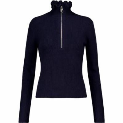クロエ Chloe レディース ニット・セーター トップス Wool and cashmere sweater Classic Navy