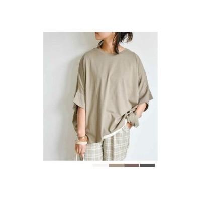 アルゴトウキョウ ARGO TOKYO Dolmansleeve T-shirt 24012 (グレージュ)