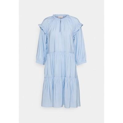 フリークエント ワンピース レディース トップス FQHANDI - Day dress - chambray blue