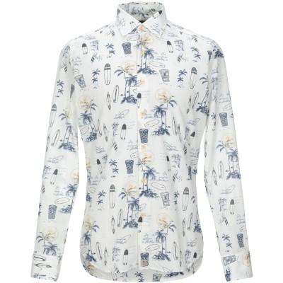 SONRISA シャツ ホワイト 39 コットン 100% シャツ